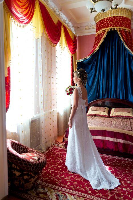 32bec86d7be1621 Продаю Чешское свадебное платье с Французским кружевом и шлейфом ...